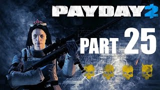 PAYDAY 2! - Gameplay/Walkthrough - Part 25 - First World Bank/Overdrill Achievement!