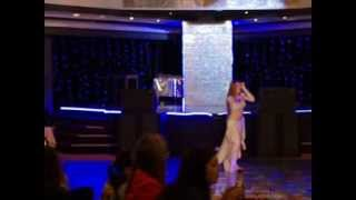 getlinkyoutube.com-bellydance party 2013 Aziza bellydance solo, Ahmed Said and Naila street shaabi