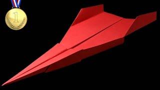 getlinkyoutube.com-How to make a Paper Airplane - BEST Paper Planes in the World - Paper Airplanes that FLY FAR | Brown