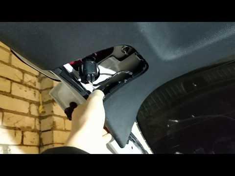 Как разобрать обшивку крышки багажника Киа Спортейдж 4 ql