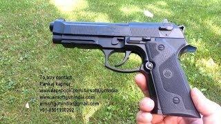 getlinkyoutube.com-Beretta elite ii co2 air pistol in india by airsoft gun india