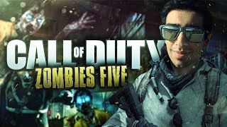 getlinkyoutube.com-CoD Black Ops ZOMBIES - FIVE #1 with Vikkstar (Call Of Duty Zombies)