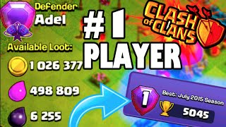 """getlinkyoutube.com-Clash of Clans - #1 PLAYER ATTACKED! """"WORLD RECORD HOLDER RAIDED"""" Legends League's Finest Destroyed"""