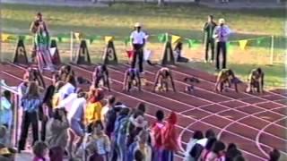 getlinkyoutube.com-1982 NCAA D2 100 Meter Dash Championship