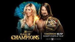 WWE Clash Of Champions 12 DECEMBER 2017 Full Show  Highlights Full HD
