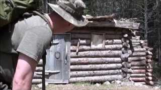 getlinkyoutube.com-3 days/19th Century Trappers Cabin Qc Canada (1/2)