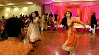 getlinkyoutube.com-THE BEST PITHI DANCE EVER! (2 OF 3) FARIHA & MALIK'S WEDDING!