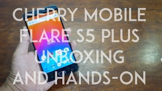 getlinkyoutube.com-Cherry Mobile Flare S5 Plus Unboxing and Initial Review