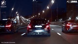 E63s & M5 F90 LIMMA & blvckmania drift Moscow