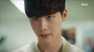 [W] ep.15 Lee Jong-suk has about to end 'W' 20160908