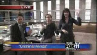 getlinkyoutube.com-Criminal Minds - On the Set + Shemar and Kirsten kiss