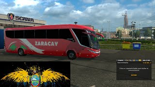 mod bus Zaracay Ecuador Santa Elena