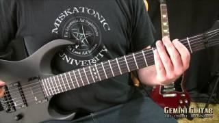 getlinkyoutube.com-Metal Mechanics - Triplet Riffing, Melodic Sequencing