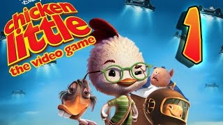 getlinkyoutube.com-Disney's Chicken Little Walkthrough Part 1 (PS2, XBOX, PC)