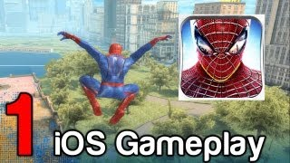 getlinkyoutube.com-The Amazing Spider-Man iOS iPad iPhone Gameplay Part 1 | WikiGameGuides