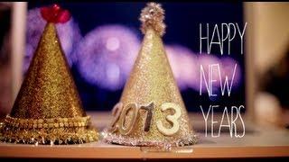 getlinkyoutube.com-DIY PARTY HAT - HAPPY NEW YEARS!
