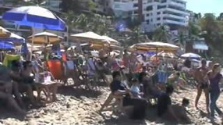 getlinkyoutube.com-Puerto Vallarta , Olas Altas , Playa Los Muertos , 27 de Diciembre del 2009