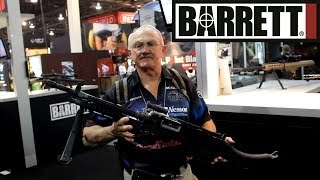 getlinkyoutube.com-SHOT show 2014- Barrett's new M240 light machine gun and the REC7 & MRAD rifles with Jerry Miculek!