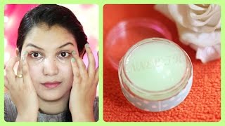 getlinkyoutube.com-Dark circles, wrinkles removal, anti ageing eye cream DIY/powerfull homemade under eye gel