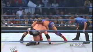 getlinkyoutube.com-Brock Lesnar Runs The Gauntlet SD! 02/20/2003 1/2