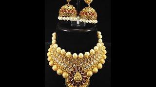 getlinkyoutube.com-Latest necklace design collection