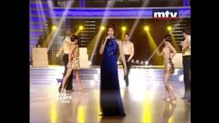 getlinkyoutube.com-Nancy Ajram Dancing With The Stars - Badak Teba Fik (Live) نانسي عجرم في رقص النجوم -  بدك تبقى فيك
