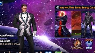 getlinkyoutube.com-Todos Trajes RAYO NEGRO Análisis y Comparación vs Jefes Mundial + PVP Dormammu vs Thanos