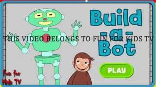 Curious George - Build a Bot Game! New Games For Kids - Fun Games - Full Episode
