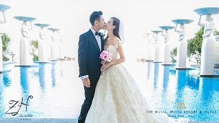 Actor Ken Chu of F4 Meteor Garden and Actress Wife Han Wen Wen Tied Their Knot at Mulia Bali