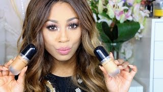 getlinkyoutube.com-FOUNDATION REVIEW| Marc Jacobs ReMarcAble Full Cover Concentrate 58 & 82