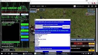 getlinkyoutube.com-Solucion Error 2033 & Borrar Unidades | War Commander Trucos Y Videos