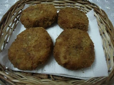 Sree Nath - Easy Vegetable Cutlet - Tea time Snack Recipe