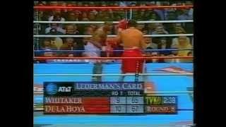 getlinkyoutube.com-Oscar De La Hoya vs Pernell Whitaker 12.4.1997