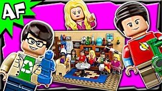 getlinkyoutube.com-Lego Ideas The Big Bang Theory 21302 Stop Motion Build Review