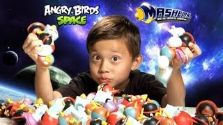 getlinkyoutube.com-The Ultimate ANGRY BIRDS SPACE MASH'EMS Adventure!!! - EPIC Special Effects!  Super Cool Toy!
