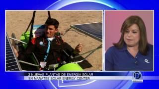 FPL Inaugura 3 nuevas plantas de energía solar