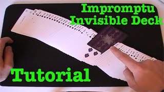 getlinkyoutube.com-The (Almost) Impromptu Invisible Deck Tutorial