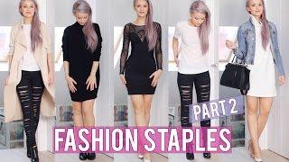 getlinkyoutube.com-12 Basic Fashion Staples Part 2 | Inthefrow