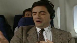 getlinkyoutube.com-On a Plane with Mr Bean