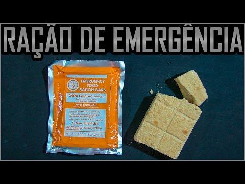 Ração de Emergência Americana para Situações de Sobrevivência da U.S.T.