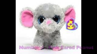 getlinkyoutube.com-Beanie Boo's - My Top 5 Favourite Beanie Boo's