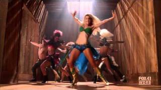 GLEE - Brittany as Britney Spears - I'm a Slave 4 U - S02E02: