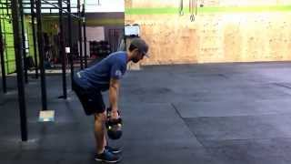 Double Bent over shrugs / Kelso shrugs