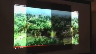 getlinkyoutube.com-DIY Black Projection Screen Samples JKLM in the Dark