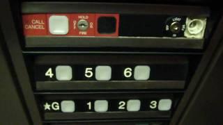 getlinkyoutube.com-Dover Hydraulic elevator @ Market Parking Garage Roanoke VA UPDATE Oct/Nov 2009