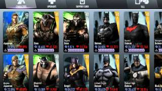 getlinkyoutube.com-Injustice Gods Among Us - ALL Characters Unlocked FREE!!!