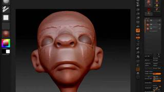 getlinkyoutube.com-ZBrush Character Sketch 2
