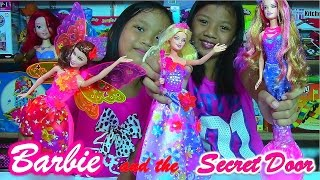 getlinkyoutube.com-Barbie and the Secret Door Alexa, Romy, Nori - Barbie Doll Collection