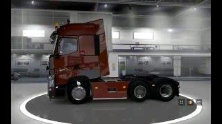 Renault T Range v4 3 для Euro Truck Simulator 2 / обзор грузовика
