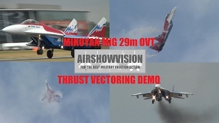 getlinkyoutube.com-MIKOYAN MIG 29M OVT Vectored Thrust Demo - Farnborough (airshowvision)